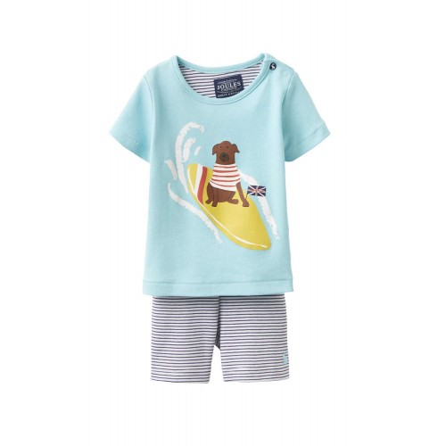 Set - Joules Baby Barnacle Surf Dog  9-12m SALE