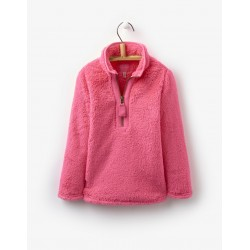 Fleece - Joules Girls Merridie - Neon candy 5-6y - sale