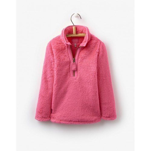 Fleece - Joules Girls Merridie - Neon candy 5-6y - sale