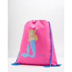 Bag - Joules Girls Neon Candy Mermaid