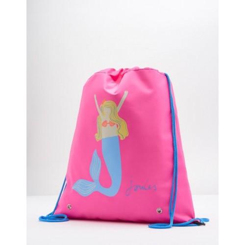 Bag - Joules Girls Neon Candy Mermaid