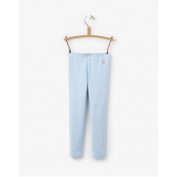 Leggings - Joules Girls Emelia in Sky Blue 5-6 - last one  - SALE