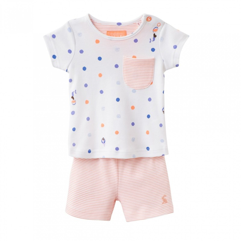 454904643 Set - Joules Baby Lundy - top/shorts - girls Mermaids sale