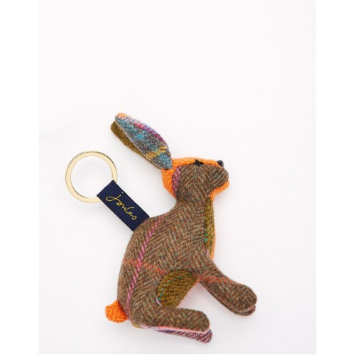 Gift - Joules - TWEEDLE NOVELTY KEYRING - Hare