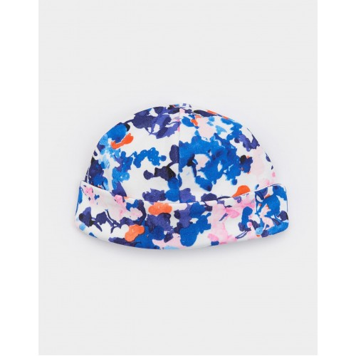 Hat - Joules Baby - Reversible - Ditsy Floral 0-3, 3-6m SALE
