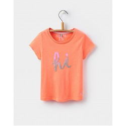 Top - Joules Girls Astra - Hi  and Bye  -7-8y - SALE