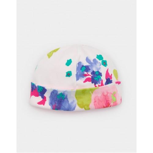 Hat - Joules - Ocean bloom 0-3, 3-6m