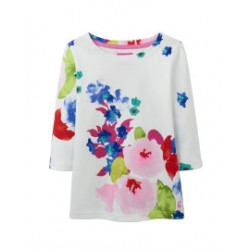 Top - Joules Girls Harbour - Ocean Top , 5-6, 7-8y