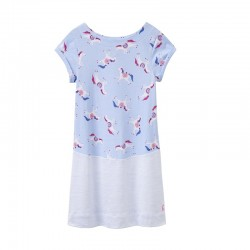 Dress - Joules Girls - Karolina - Sky Carousel - 3-4,, 5-6 y  SALE
