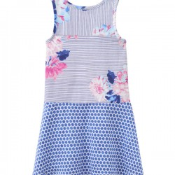 Dress - Joules Girls PATSY in Posy stripe - , 5-6y last one