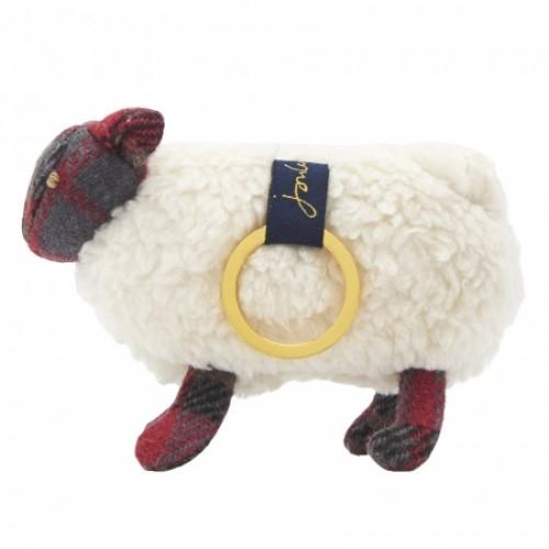 Gift - Joules - TWEEDLE NOVELTY KEYRING - Sheep
