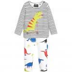Set - Joules Baby Byron set - Cool Blue Dino Stripe - 9-12, 12-18m - sale