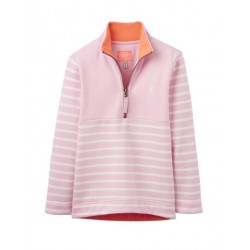 Sweatshirt - Joules Baby Girl FAIRDALE sweatshirt - Rose Pink Stripe 3-6, 6-9 - sale