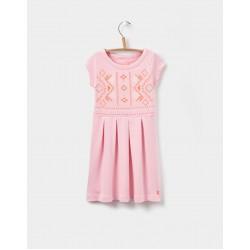 Dress - Joules Girls - Lara - Rose Pink - SALE - 3-4, 5-6, 7-8y