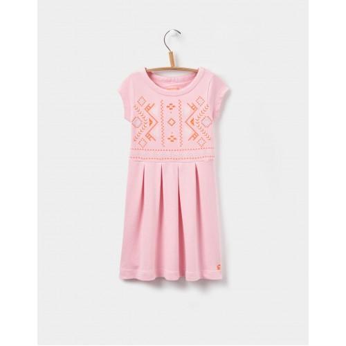 Dress - Joules Girls - Lara - Rose Pink - SALE - 3-4, 5-6, 7-8