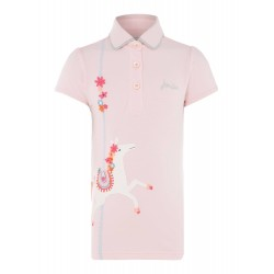 Top - Joules Girls - Moxie - Rose Pink Horse 7-8y - last one sale