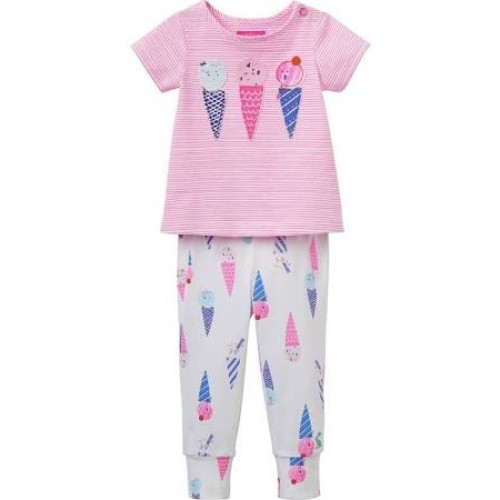 Set - Joules Baby Winn  - Icecream - in SALE  6-9m - last one in sale