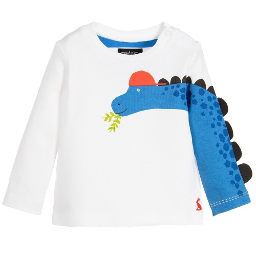 Top - Joules Baby Zayn Dinosaur Top -12-18m