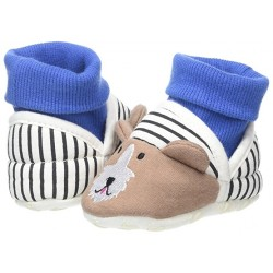 Slippers - Joules Baby Slippers - Dog - 0-6, 12-18m