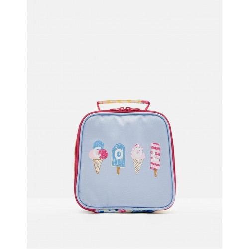 Bag - Joules Girls - MUNCH LUNCH BAG - Sky Blue Ice cream - Sale