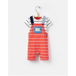 Set - Joules Baby - DUNCAN JERSEY DUNGAREE SET - 9-12, 12-18m - sale
