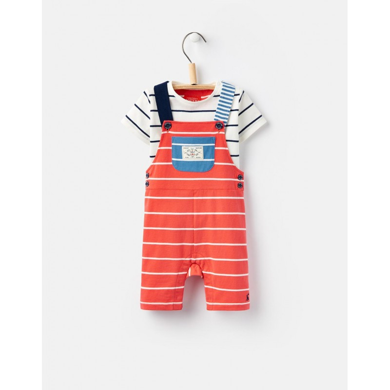 0a9d18fed Set - Joules Baby - DUNCAN JERSEY DUNGAREE SET - 9-12 - last item 45% off  clearance sale