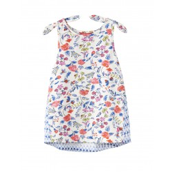 Top - Joules  Girls  - IRIS -  Vest Top - Beach Ditsy - 4y , 5y in sale