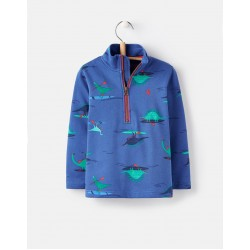 Sweatshirt - Joules Boys - Dale - Blue dino paddle - 3, 4, 5, 6