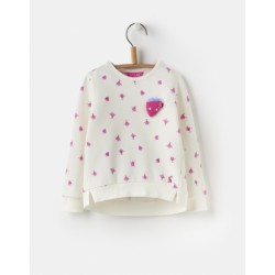 Sweatshirt - Joules Girls - Mart sweatshirt - cream spot 1, 2y