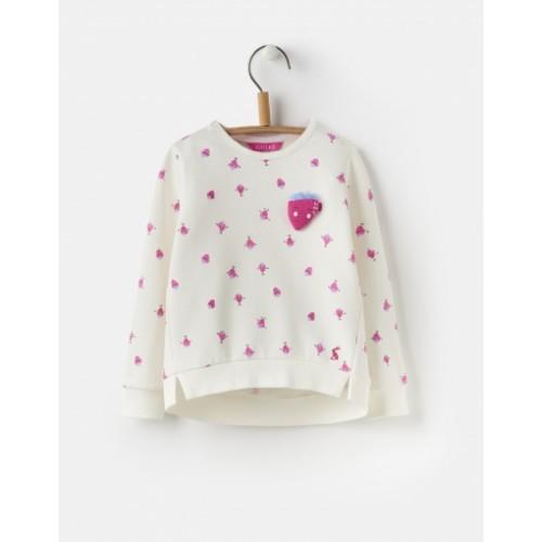 Sweatshirt - Joules Girls - Mart sweatshirt - cream spot 1, 2y