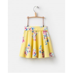 Skirt - Joules Girls Izzie - Yellow Floral - 3, 4,, 6y - sale