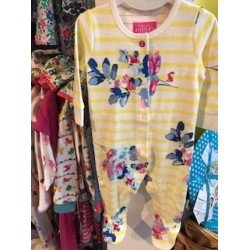 Babygrow - Joules - Margate Yellow - 0-3, 3-6m