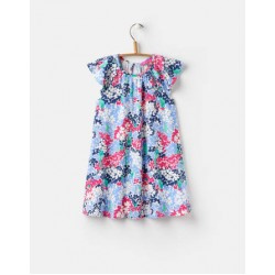 Dress - Joules Girls - Vivi - PARAKEET DITSY - 1, 1, 2, 2,