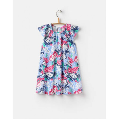 Dress - Joules Girls - Vivi - PARAKEET DITSY - 1, 2 y