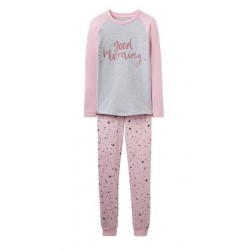 PJ - Joules SLEEPWELL - ROSE PINK STAR - 3, 4, 5, 6