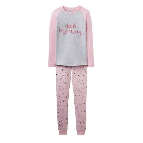 PJ - Joules SLEEPWELL - ROSE PINK STAR - 3, 4, 5, 6