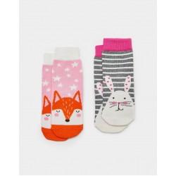 Socks - Joules Baby - Bunny - 0-6, 1-2y