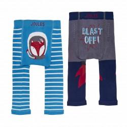 Leggings - Joules Baby Boys - Blast off - 0-6m
