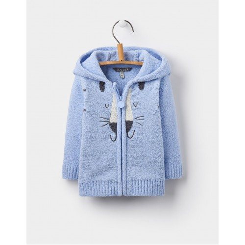 Jacket - Joules Baby - GRIZZLY CHENIELLE - sky blue cat - 3-6, 12=18m