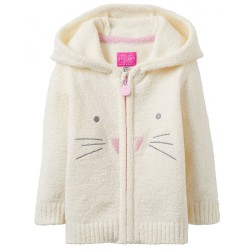 Jacket - joules Baby  Miskin - Creme bunny -18-24m -  last one in sale