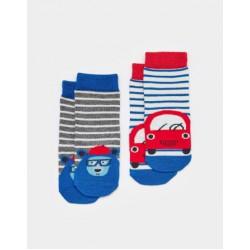 Socks - Joules Baby - Car - 0-6, 6-12, 1-2y