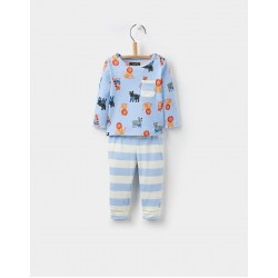 Set - Joules Baby - Toby - Sky blue lion - 12-18m - last one in sale