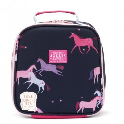 Bag - Joules Girls - MUNCH LUNCH BAG - navy unicorns sale