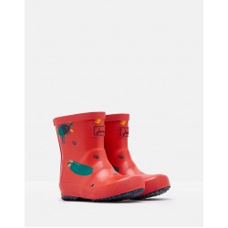 Welly Boots - Joules - Baby RED DINO - Baby  4 shoe size  - sale