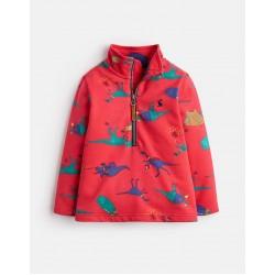 Sweatshirt - Joules  Boys - DALE - Red dino - 3, 4, 5, 6y