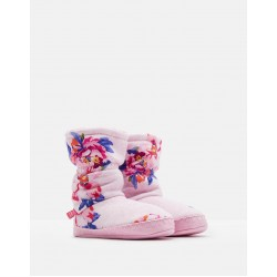 Slippers - Joules - Padabout - PINK MARL GRANNY FLORAL - extra small (2x) , small (2x), medium (2x) large (2x)