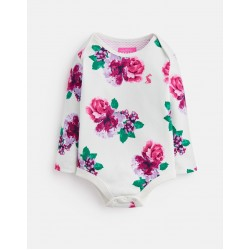 Body - Joules  Snazzy - Cream Floral - 0-3 , 3-6 , 6-9, 9-12, 18-24m