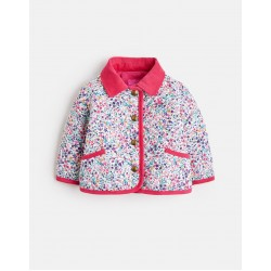 Jacket - Joules Baby - Mabel Quilted Jacket - ACORN DITSY - 12-18, 18-24m - sale