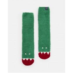 Socks - Joules - Boys Fluffy Socks, DINO - 9-12, 13-3 new