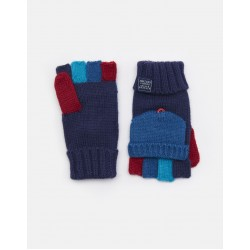 Gloves - Joules - BOBBLE CONVERTER GLOVE in french navy - 8-12y  - sale